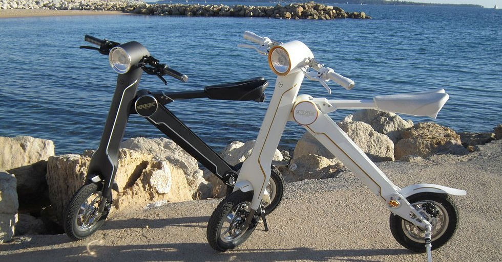 E-bike pliable - Superchic Mini E-Bike