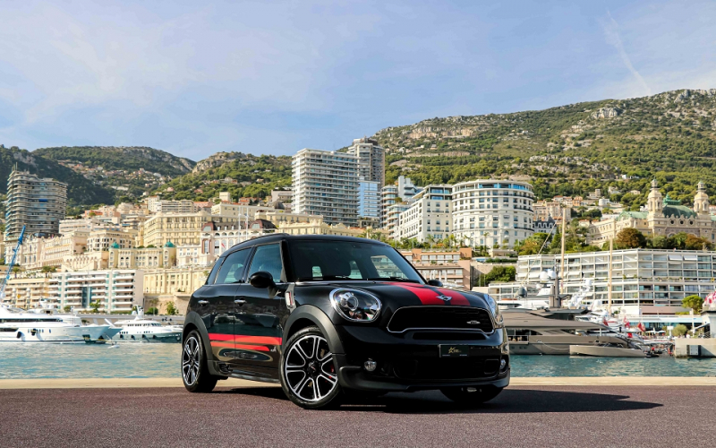 Mini COUNTRYMAN JOHN COOPER WORKS 218CH ALL4 BVA Essence NOIR Occasion à vendre