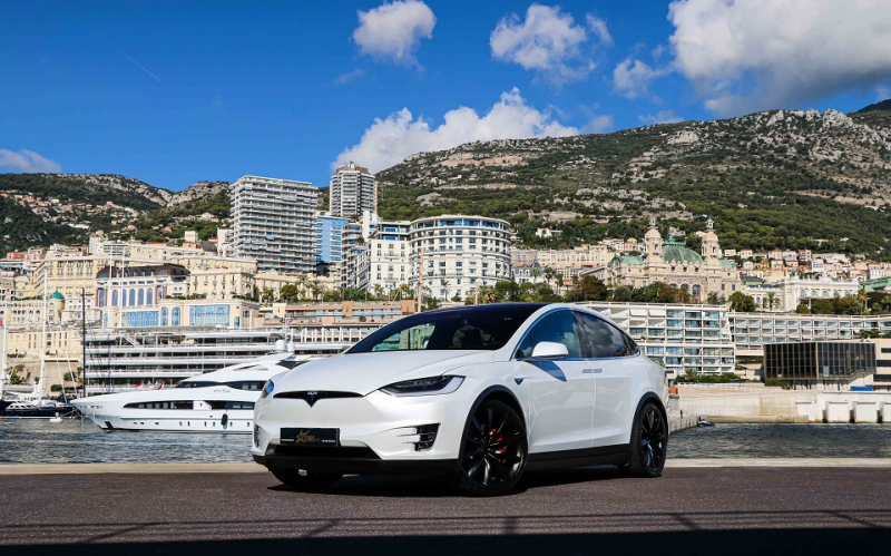 Tesla MODEL X P100DL PERFORMANCE LUDICROUS DUAL MOTOR Electrique BLANC Occasion à vendre