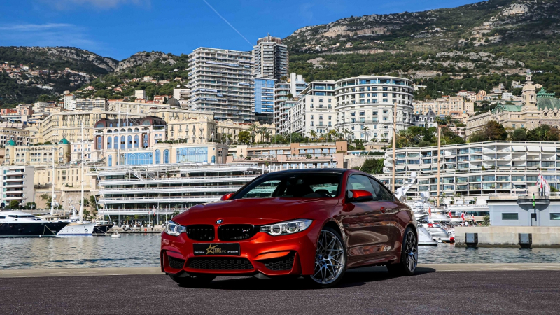 Bmw M4 COUPE (F82) 3.0 450CH PACK COMPETITION DKG Essence ROUGE Occasion à vendre